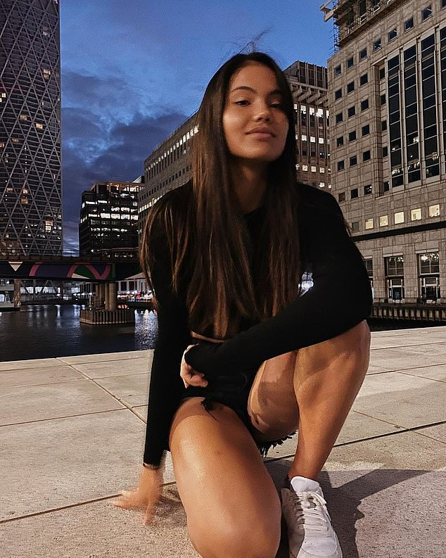 Away from the tennis court, as well as on it, however, 18-year-old Emma Raducanu is the exception