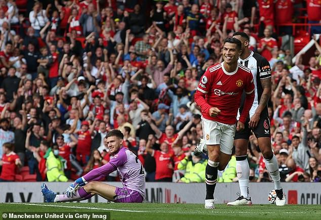 Cristiano Ronaldo scored twice as he made a triumphant return to Manchester United team