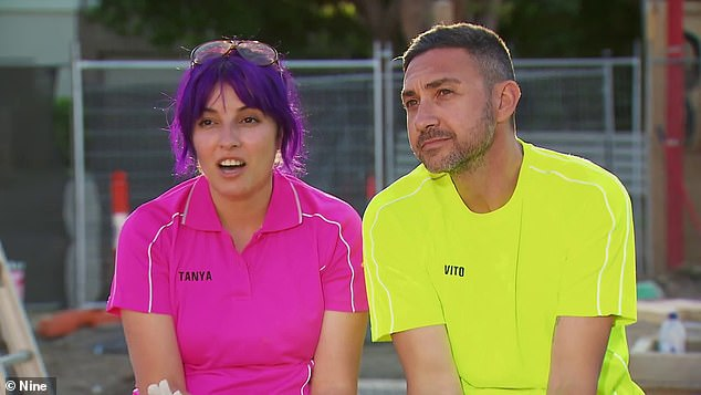 Will they show up?The Block's Tanya and Vito Guccione (pictured) are threatening to boycott auction day to avoid 'more bickering' following cheating scandal, according to New Idea