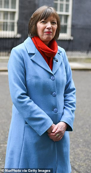 Frances O'Grady, general secretary of the Trades Union Congress, received £167,229 in total remuneration