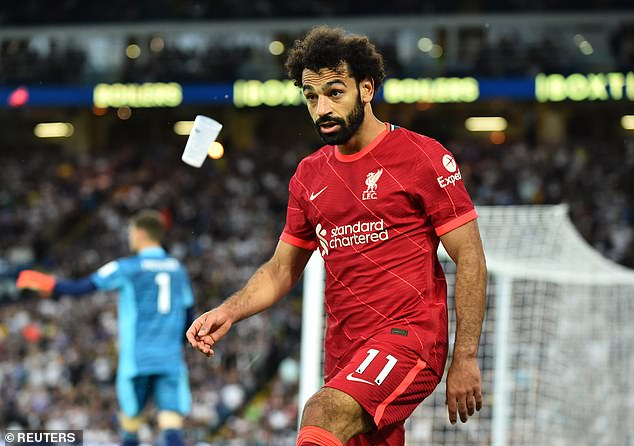 Liverpool forward Mohamed Salah will be vying with Ronaldo for the Golden Boot this season