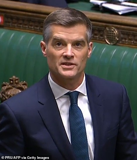 Mark Harper (pictured) , chairman of the Covid Recovery Group of Tory MPs, meanwhile said the end of vaccine passports should be permanent, tweeting: 'I welcome Savid Javid confirming that vaccine passports are not going ahead now.