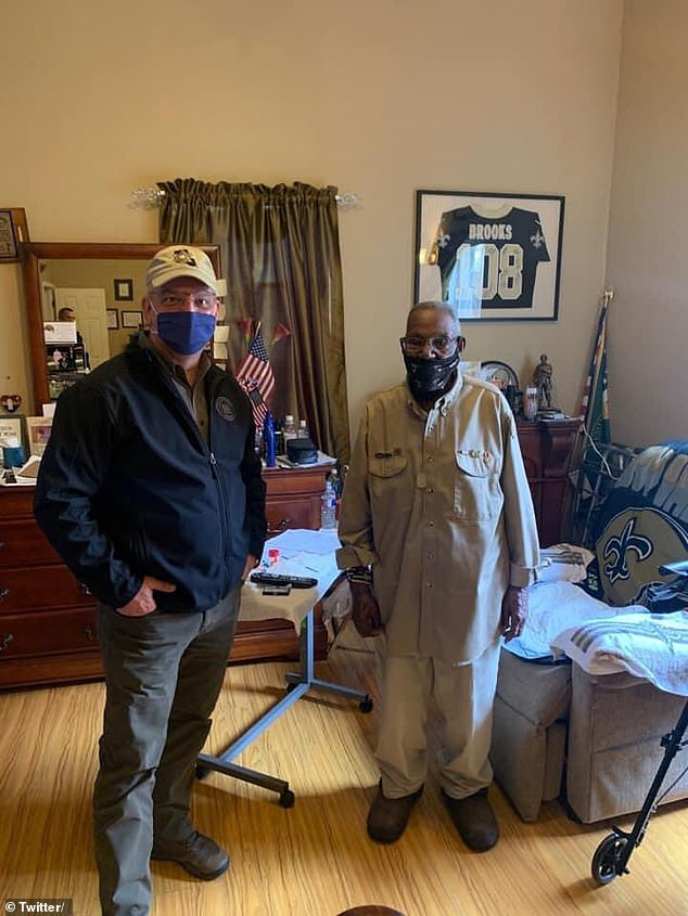 Louisiana Gov. John Bel Edwards also sent his good wishes to Brooks on Twitter