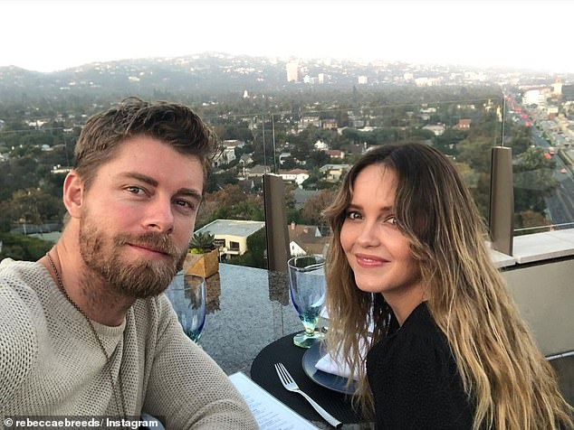Homecoming: Home and Away stars Luke Mitchell (left) and Rebecca Breeds (right) have purchased a $2.3million homein Cronulla, Sydney