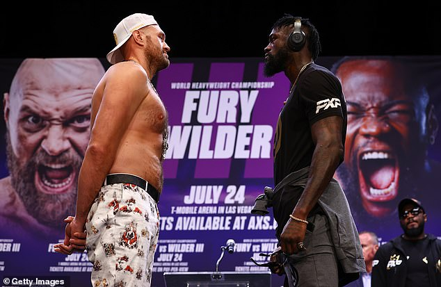 Fury will defence the WBC world title he wrenched away from Wilder in Vegas on October 9