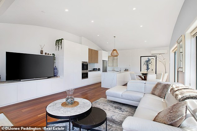 Sea change: According to a report by Domain on Sunday, the couple - who married back in 2000 - are trading their home in Auburn for the eastern suburbs