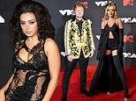 Charli XCX, Rita Ora and Ed Sheeran lead British stars at MTV VMAs