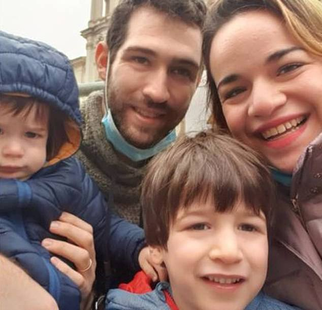 Six-year-old Eitan Biran (pictured bottom) from Israel, has no memory of the cable car crash in Italy that killed his entire family, doctors revealed