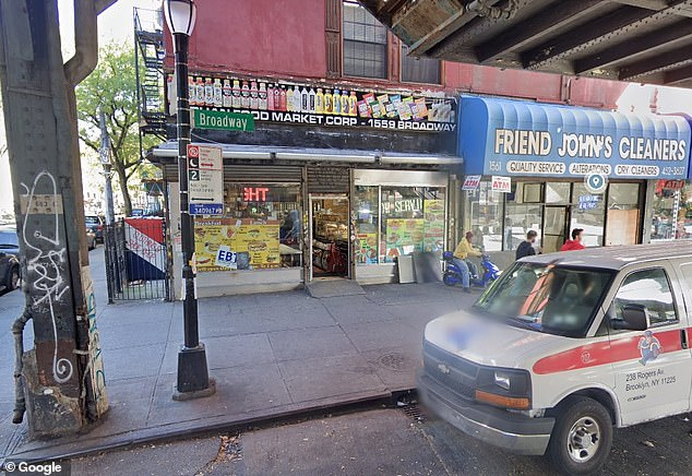 The incident happened Sept. 4 at 2.10am at a store at 1559 Broadway in Bushwick, Brooklyn