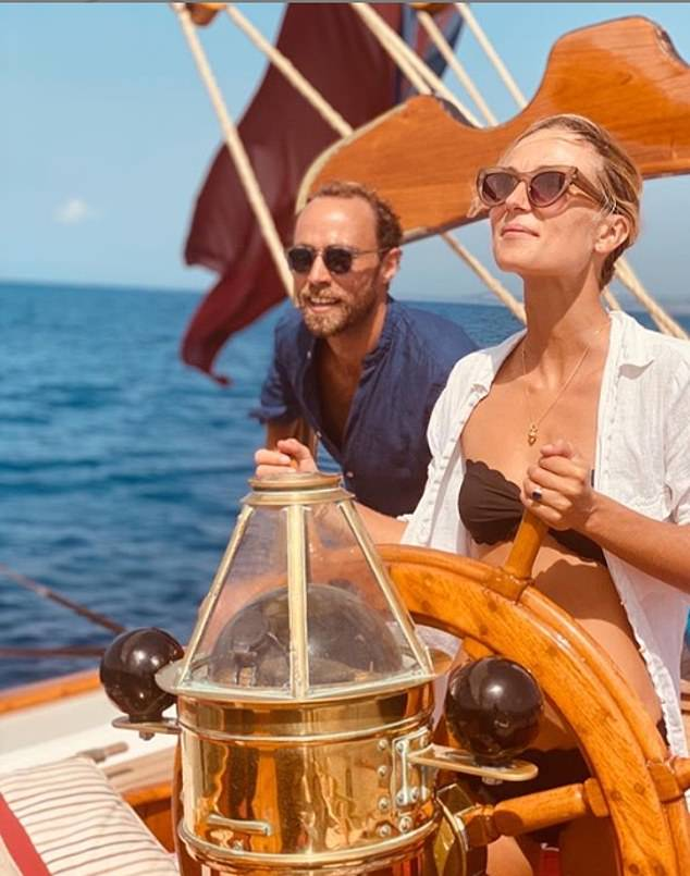 It is clear they are more loved up than ever as they look ahead to their wedding, with James gushing over his wife in a touching Instagram post shared this month. He posted a series of holiday pictures from a couple's getaway in Sicily