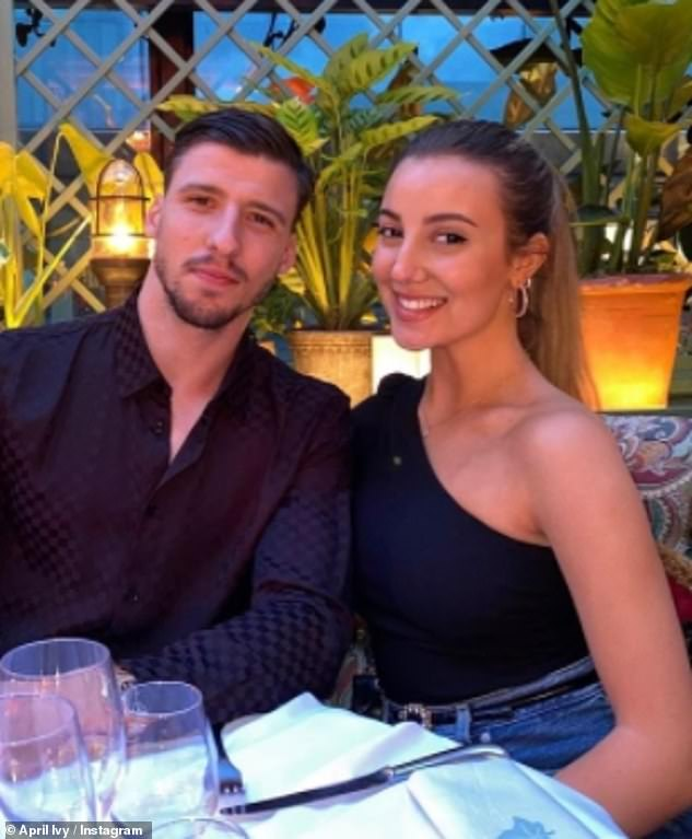 Gone:Insiders told Portuguese magazine Flash! that Rúben's desire for a 'more discreet' life clashed with his former love's 'exuberance', leading to their reported break-up and his removal of April from his social media channels
