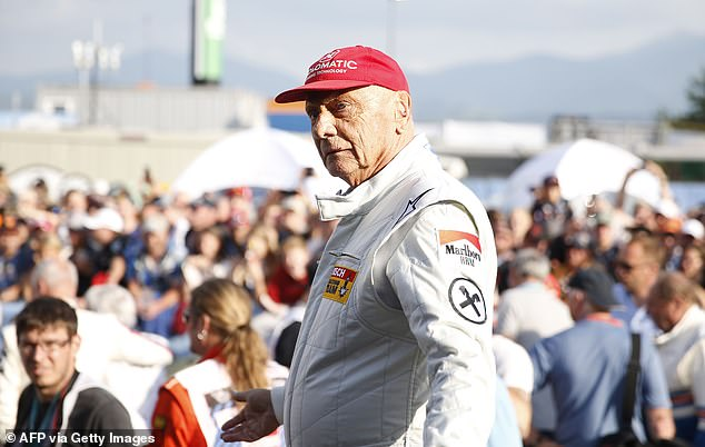 Three-time F1 world champion Niki Lauda (above) was sure there was a more effective device