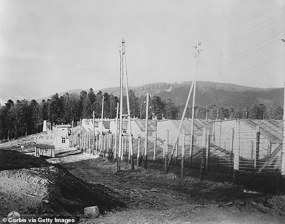 The Natzweiler-Struthof concentration camp, close to the villages of Natzweiler and Struthof, was opened in 1941