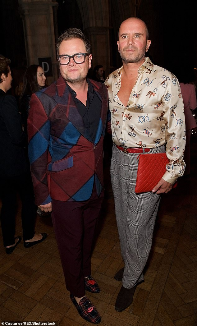 Alan Carr has revealed he takes months off the booze to help hubby Paul Drayton battle his alcohol addiction