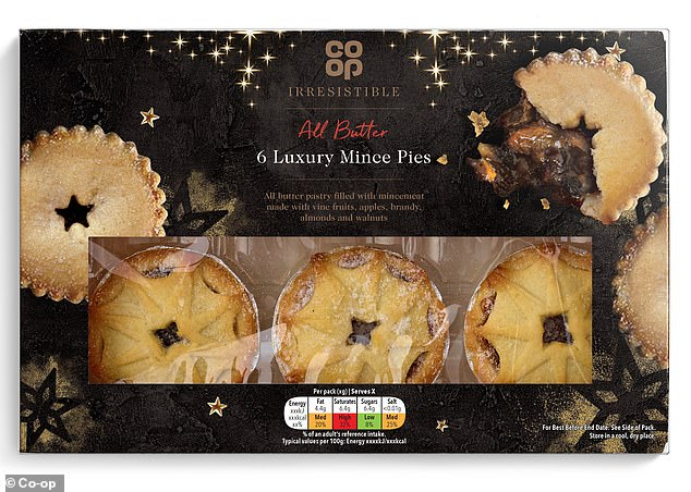 Market research conducted by the retailer found customers are keen to enjoy a mince pie now