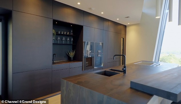 Grand Designs' Kevin McCloud has revealed he was stunned when a couple spent £125,000 on a kitchen in the new series - adding that he 'can't see the need to justify gross spending on basic necessities' ' (pictured, £125,000 The Kitchen)