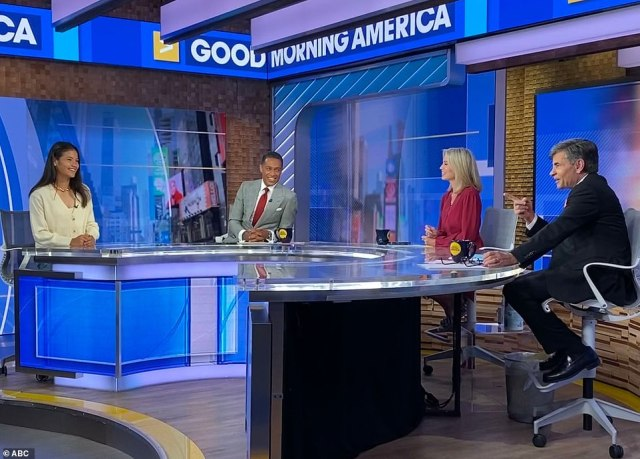 The 18-year-old told ABC's Good Morning America that it had been hugely influential in her sporting prowess