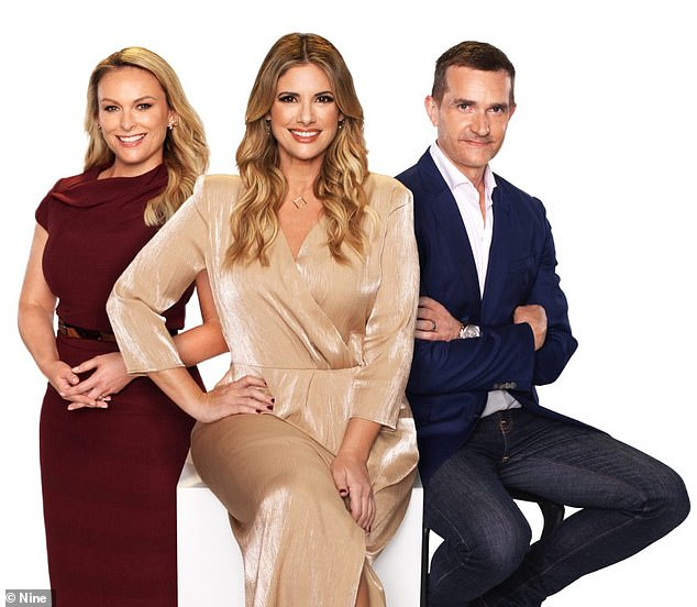 Casting for MAFS' ninth season is under way in Sydney, but production has been postponed due to the coronavirus pandemic. Pictured L-R, withfellow MAFS experts Alessandra Rampolla and John Aiken