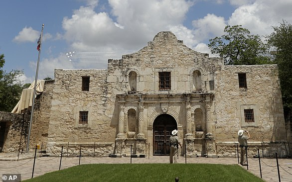 The image above shows the Alamo in San Antonio, a symbol of resistance by the Texan colonists who died in battle during the Texas Revolution of 1836, leading to the creation of the Republic of Texas