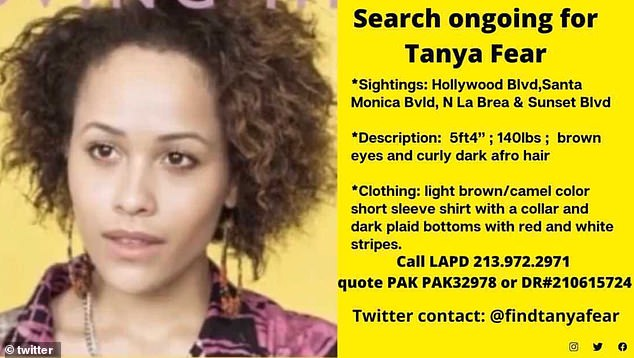 New: Tanya's friends and family have released updated missing posters