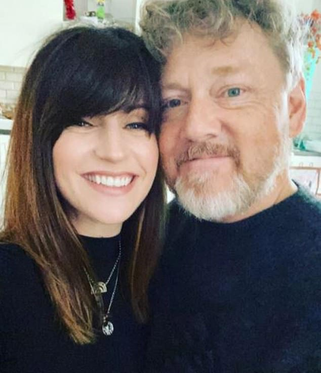 Couple:The soap star couple, who have been engaged since June 2018, took to Instagram to announce the happy news and reveal they had called their son Jesse