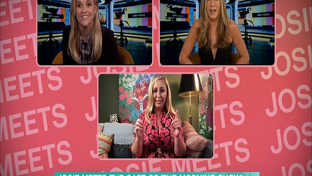 Jennifer Aniston thinks Josie Gibson calls her a HOOKER during This Morning interview