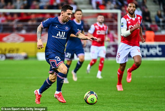 Messiis set to make his Champions League debut for the club against Clube Brugge this week