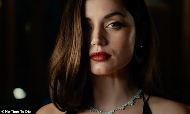 Smouldering: Paloma is introduced to Bond as a Cuban agent