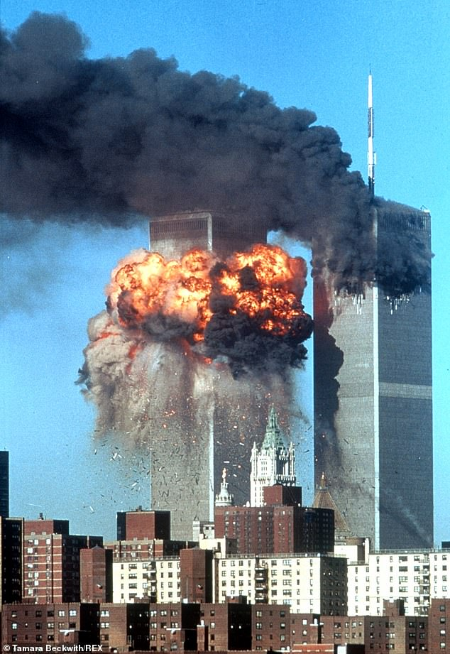 2,977 people perished in the terrorist attacks on the World Trade Center and Pentagon