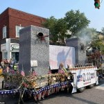Indiana 9/11 parade float featuring Twin Towers and billowing smoke sparks backlash 💥👩💥
