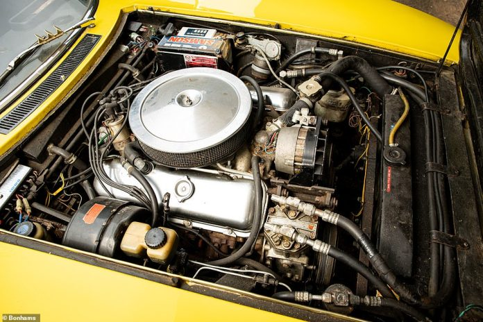 The 7.4-liter 'Can-Am' engine made a claimed 390bhp at 4,800rpm when new, with 500lb/ft of torque available at 3,600 revs.