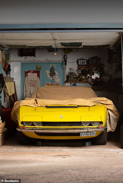 Garaged for 47 Years: This ultra-rare 1971 Iso Grifo supercar was put into dry storage by its sole owner in 1974 and has not been exposed since.