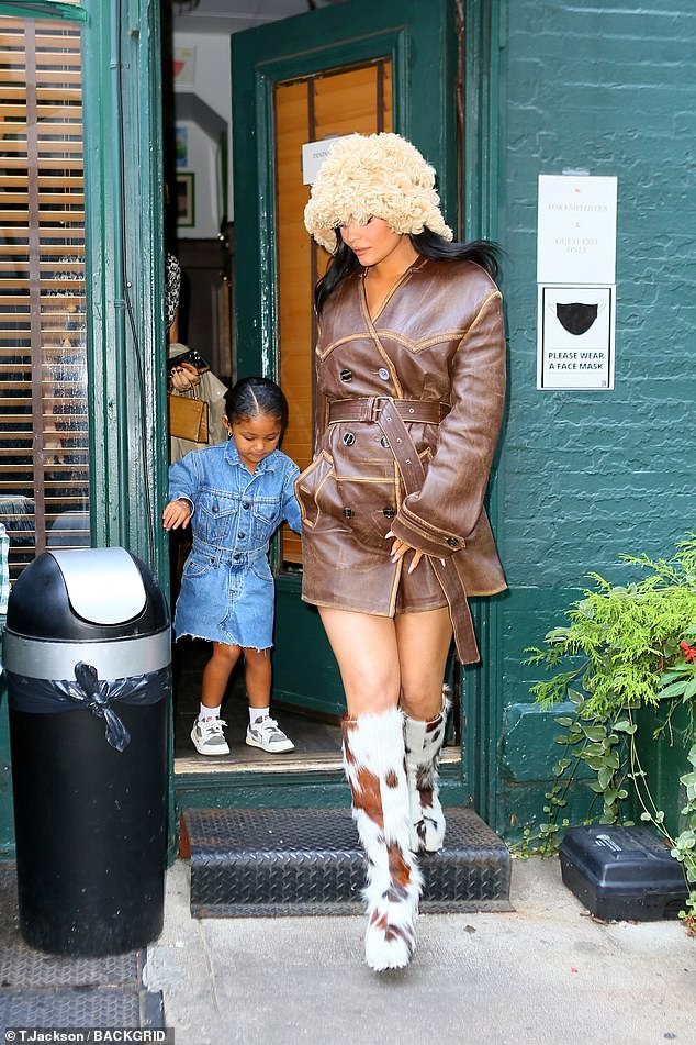Aww: Jenner enjoyed some quality time with her daughter Stormi in NYC last week; seen on September 10