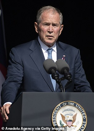 George W. Bush spoke at a memorial for Flight 93 in Pennsylvania on Saturday