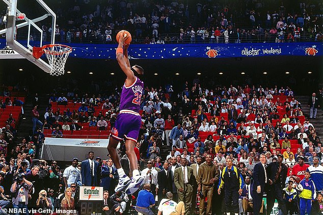 He will best be remembered for his blindfolded dunk in the 1992 dunk contest, which he won