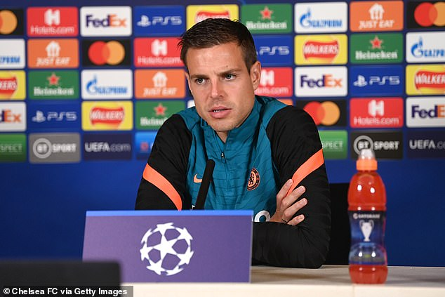 Cesar Azpilicueta is set to captain Chelsea in their Champions League title defence this year