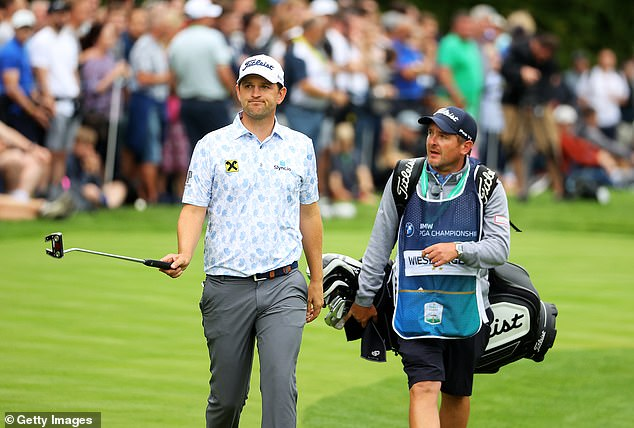 Bernd Wiesberger (left) qualified for a Ryder Cup spot due to a bizarre points selection system