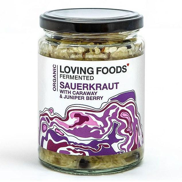 Loving Foods Caraway and Juniper Berry Sauerkraut, 500g, £6.95, lovefoods.co.uk