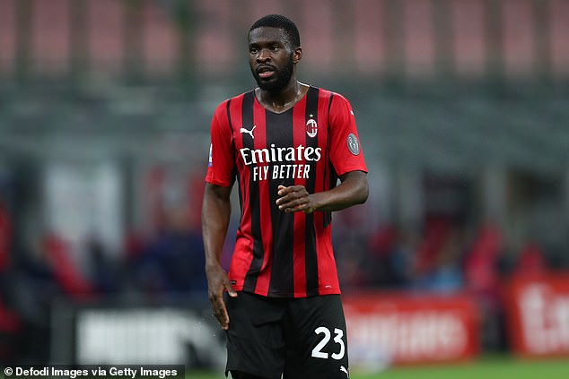Tomori is living on his own out in Milan after arriving from Chelsea where he failed to make it
