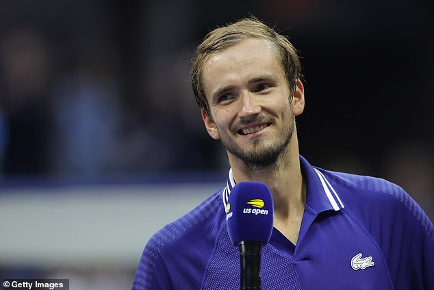 Daniel Medvedev said ending Novak Djokovic's hopes of tennis history made his win sweeter