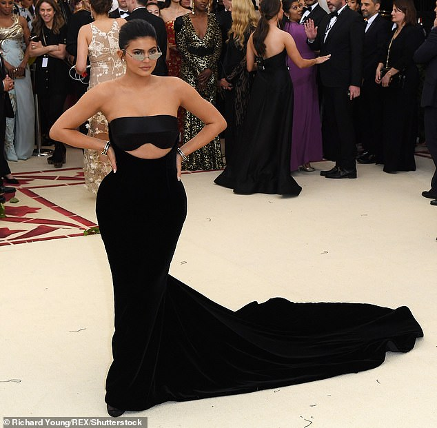 Kylie Jenner is one of several big names who won't be at the Met Gala tonight (pictured in 2018)