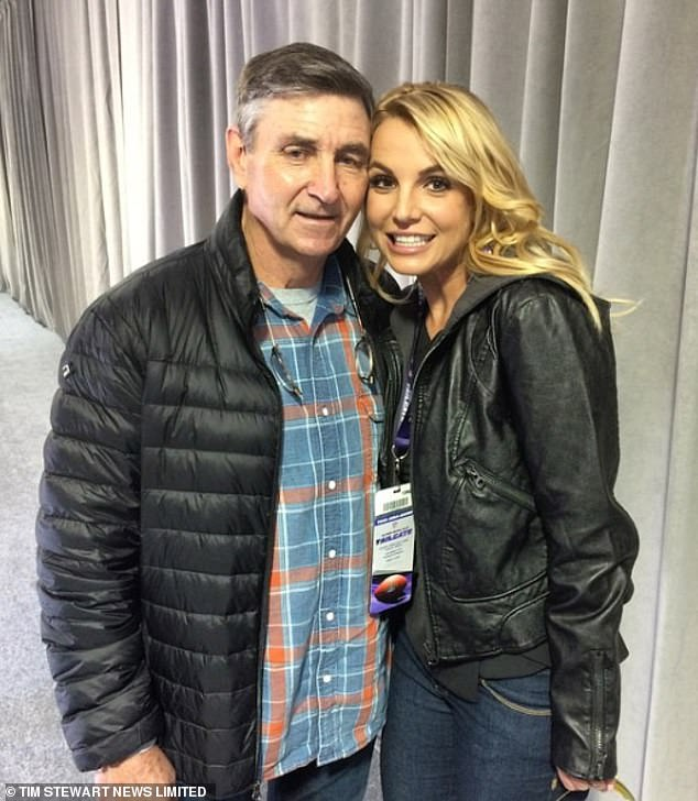 Britney's $59M estate has been managed by the 69-year-old former building contractor (L, pictured in 2017) ever since she was put on 5150 involuntary psychiatric hold for five days back in January 2008