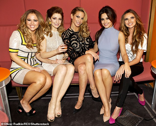Show:Cheryl, Nadine Coyle, Kimberley Walsh and Nicola Roberts are hoping the show, partly inspired by The Wanted's Tom Parker's Stand Up To Cancer gig, will raise money for important causes (pictured together in 2012)