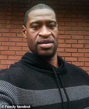 The protests followed the viral death of George Floyd, an unarmed black man on May 25