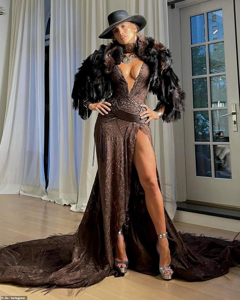 Social butterfly: Jennifer boasts 176million followers on the social media platform