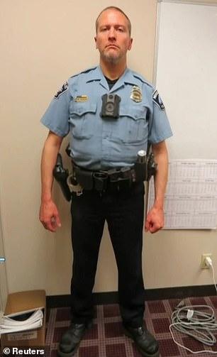 PICTURED: Former Minneapolis Police officer Derek Chauvin