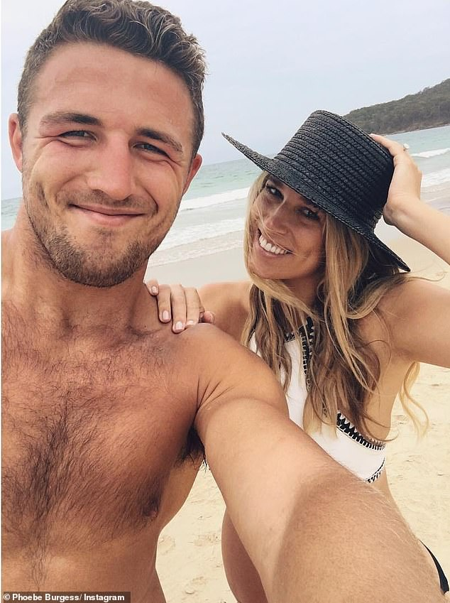 Phoebe and Burgess share two children, Poppy and Billy, and were together for five years
