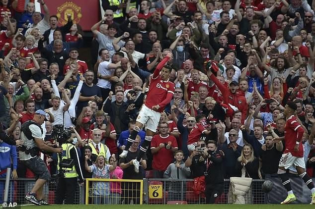 Ronaldo scored twice on his United homecoming and urged the squad to 'sacrifice everything'