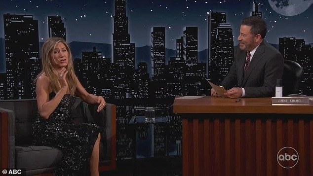 Strange question:'If Jennifer Aniston could make one of her body parts detachable, which one would it be?,' Jimmy wondered