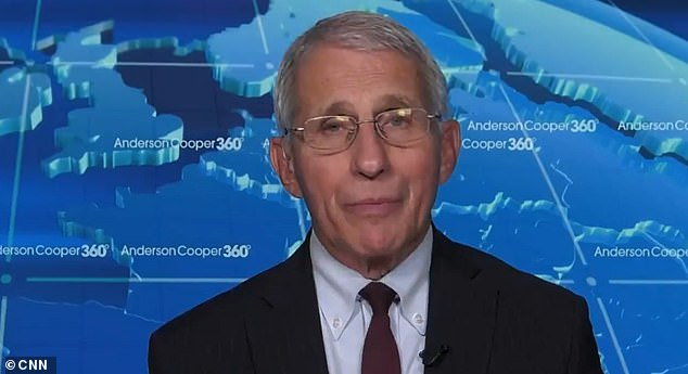 In an August 2020 CSPAN interview Dr. Fauci (pictured) said the U.S mandating the vaccine would be 'inappropriate'